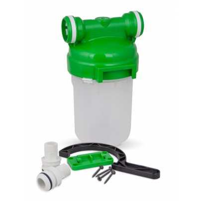 """Корпус магистрального фильтра 5"""" для холодной воды (Smart - подключение)"""