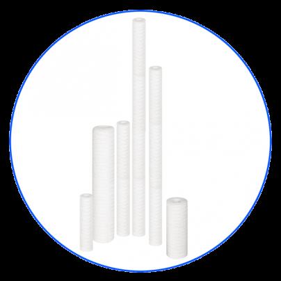Полипропиленовые нитные картриджи Aquafilter Seria FCPP