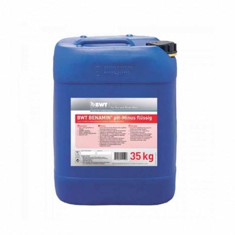 Жидкий реагент BWT BENAMIN pH-Minus flussing (35 кг) (94226)