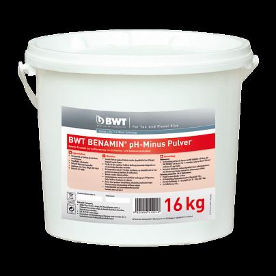 BWT BENAMIN pH-Minus Pulver в кранулах (16 кг) 351221