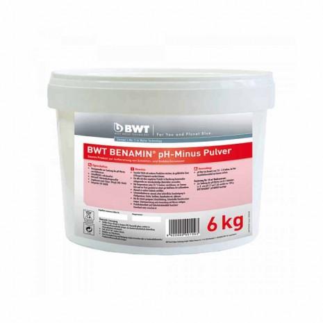BWT BENAMIN pH-Minus Pulver в кранулах (6 кг) (94298)
