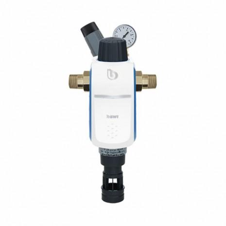 """Фильтр с обратной промывкой BWT R1 HWS 1"""" с редуктором давления 840370"""
