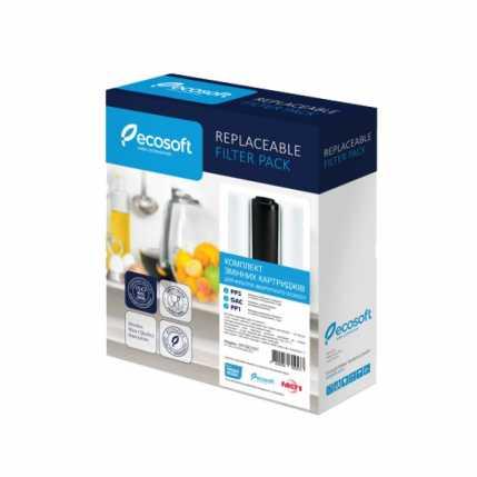 Комплект картриджей Ecosoft 1-2-3 для фильтров обратного осмоса (CPV3ECOSTD)