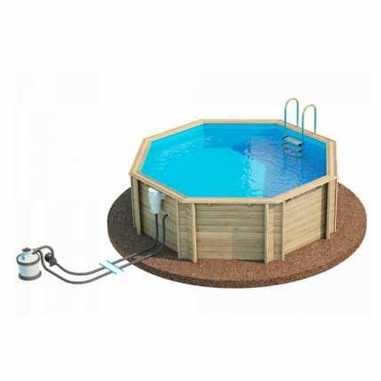 Деревянный бассейн  TROPIC 414 (27111205)