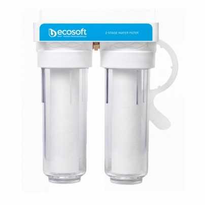 """Двойной фильтр для холодной воды ECOSOFT 3/4"""" FPV2ECO"""