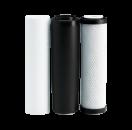 Улучшенный комплект картриджей Ecosoft 1-2-3 для фильтров обратного осмоса CHV3ECO