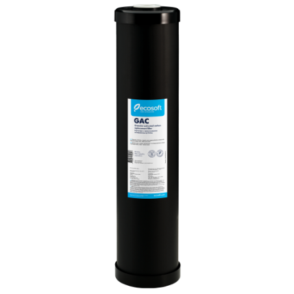 """Картридж с гранулированным активированным углем Ecosoft 4,5""""х20"""" (CHV4520ECO)"""