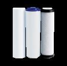 Комплект картриджей Organic Master Trio для проточных фильтров