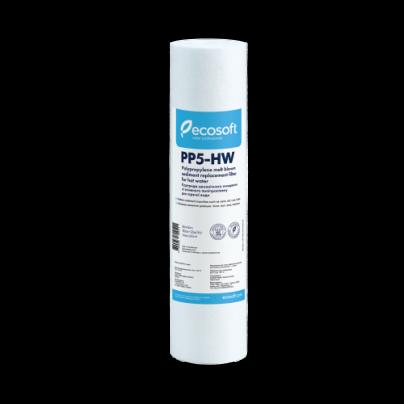 """Картридж из вспененного полипропилена для горячей воды Ecosoft 2,5""""x10"""" 5 мкм CPV2510HWECO"""