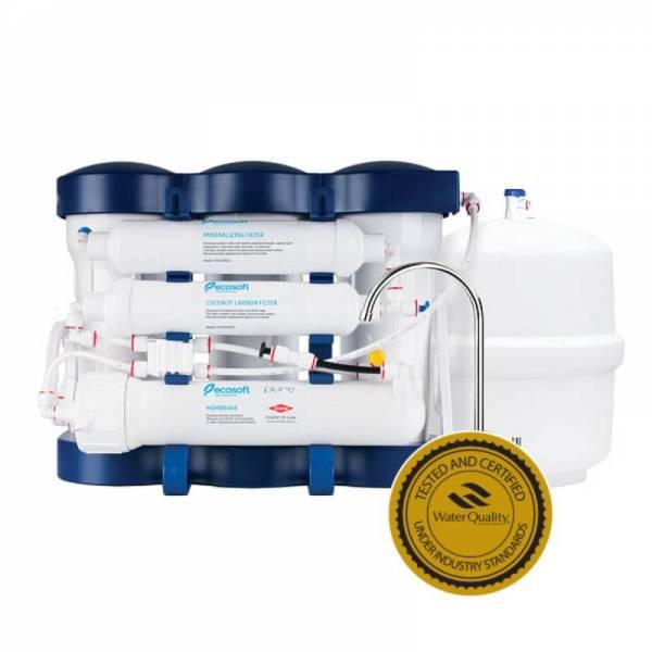 Фильтр обратного осмоса Ecosoft P'URE с минерализатором MO675MPURE