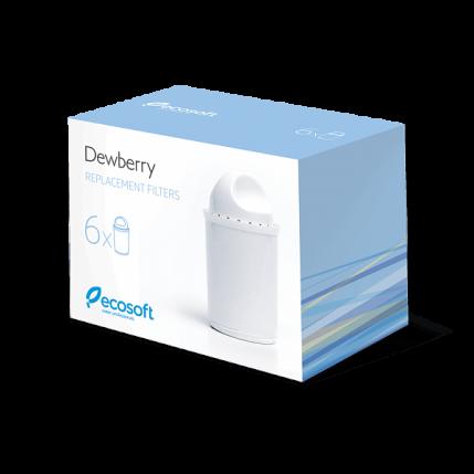 Комплект сменных картриджей для фильтра-кувшина Dewberry 6 шт. CRVK6DEWBECO (Снято с производства)