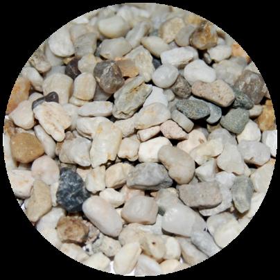 Кварцевый песок 2-6 мм для подложки 25 кг (QUS26)