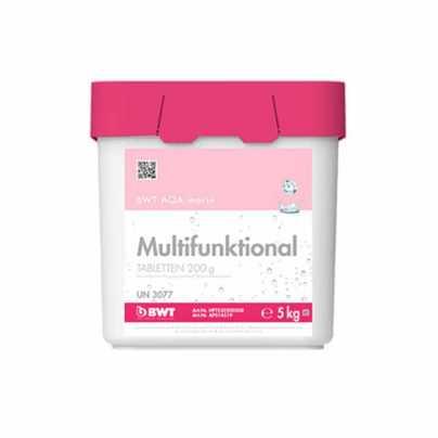Многофункциональные таблетки BWT AQA marin MULTIFUNKTIONAL 200 г (5 кг) (APS14519)