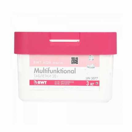 Многофункциональные таблетки BWT AQA marin MULTIFUNKTIONAL (3 кг) (APS14518)