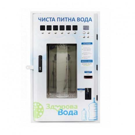 Панель налива воды Ecosoft  КА-100 (Брендирование Здорова Вода)