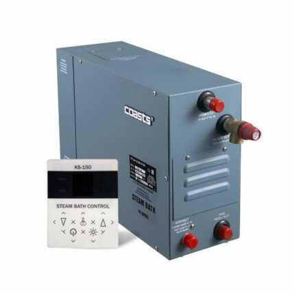 Парогенератор Coasts KSA-120 12 кВт 380В с выносным пультом KS-150 (2513)