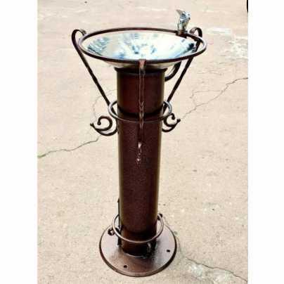 Питьевой фонтанчик DARVODA ПФ-1 антивандальный для наружного использования и бесконтактной подачей воды (ПФ-1)