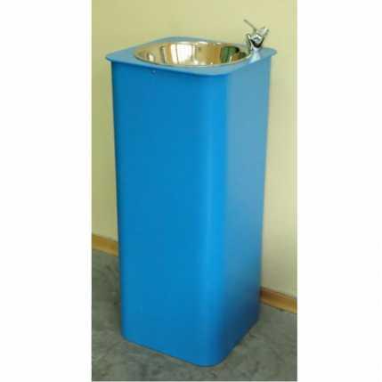 Питьевой фонтанчик DARVODA ПФ-1-4К c бесконтактной подачей воды (ПФ-1-4К White Blue)