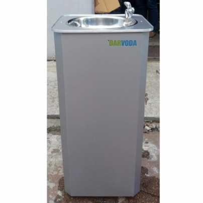 Питьевой фонтанчик DARVODA ПФ-1-4КДБ  с дверцей и подачей воды из бутыли 18,9 л. (ПФ-1-4КД)Б