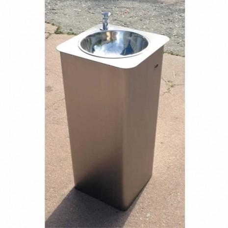Питьевой фонтанчик DARVODA ПФ-1-4НЖ c бесконтактной подачей воды (ПФ-1-4НЖ Sensor)