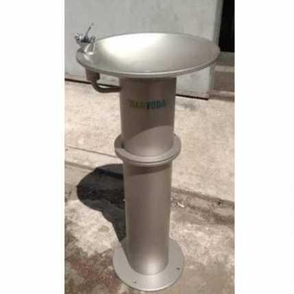 Питьевой фонтанчик DARVODA ПФ-1 антивандальный для наружного использования и бесконтактной подачей воды (ПФ-1Б)