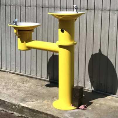 Питьевой фонтанчик DARVODA «ПФ-3» антивандальный для наружного использования и бесконтактной подачей воды (ПФ-3)