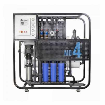 Промышленная система обратного осмоса Ecosoft MO4 ECONNECT (без мембран) MO44CONWE