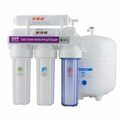 5-ти стадийная система очистки воды GRANDO5 RO905-550-EZ