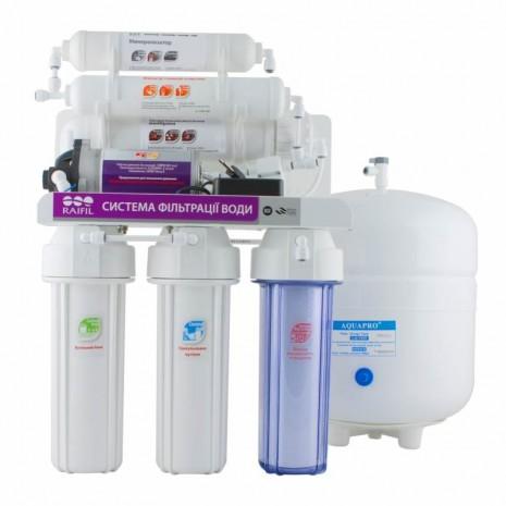 6-стадийная система очистки воды GRANDO6 + с насосом RO905-650BR-EZ