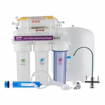 7-ми стадийная система очистки воды GRANDO7 RO905-750-EZ