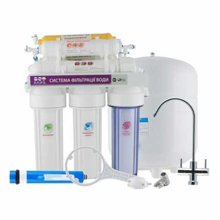 7-ми стадийная система очистки воды GRANDO7 + с насосом RO905-750BP-EZ