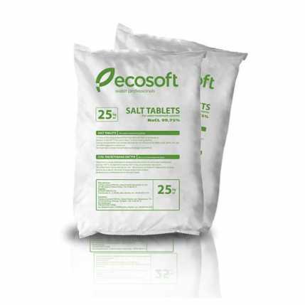 Таблетированная соль Ecosoft ECOSIL 25 кг KECOSIL