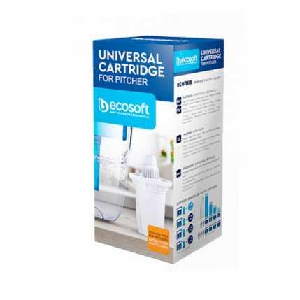 Универсальный картридж Ecosoft для фильтров-кувшинов CRVKABECO