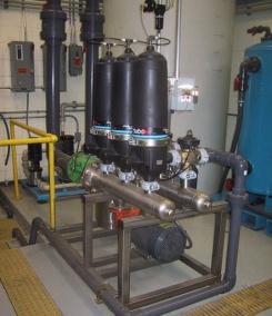 Механическая очистка воды для многоквартирного дома