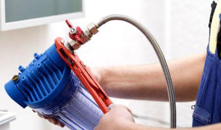 Как установить магистральный фильтр для воды ?