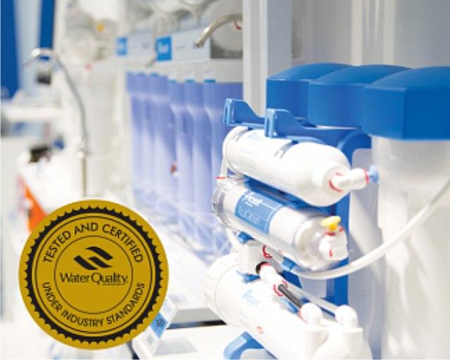 Фильтры Ecosoft получили сертификат WQA Gold Seal